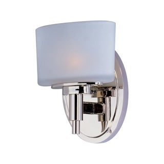Maxim Lola Nickel 1-light Bath Vanity