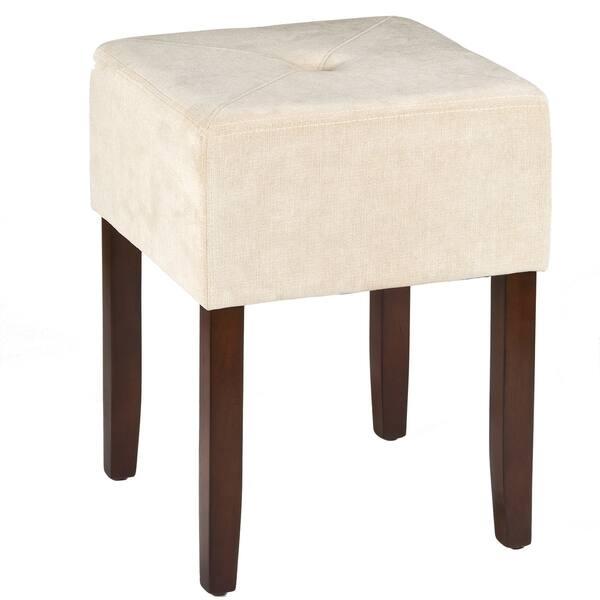 Fabulous Shop Bellamy Backless Vanity Stool On Sale Free Shipping Inzonedesignstudio Interior Chair Design Inzonedesignstudiocom