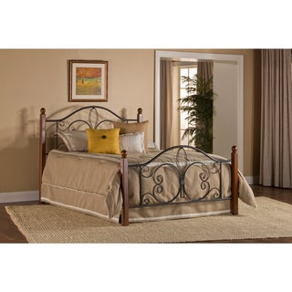 Milwaukee Wood Post Headboard