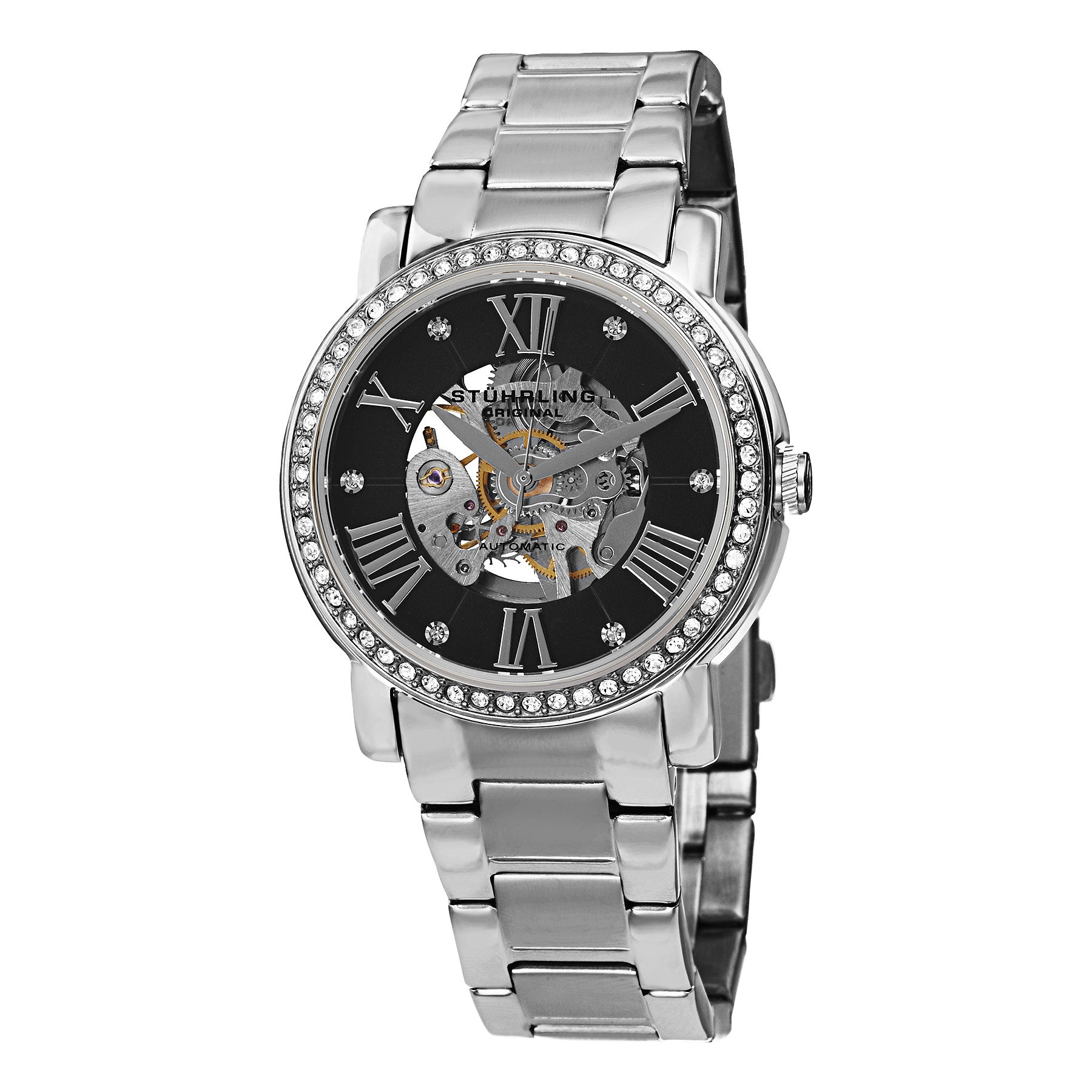 Stuhrling Original Women's Automatic Legacy 629 Stainless...