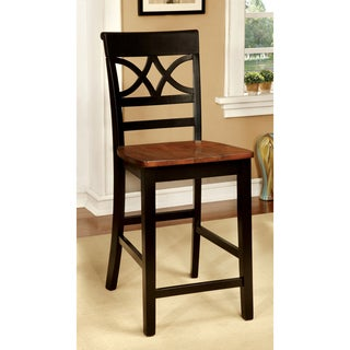 Copper Grove Bedgebury Duo-tone Counter Height Chair (Set of 2) - 18W X 20 7/8D X 41H (SEAT HT: 24 1/8, SEAT D