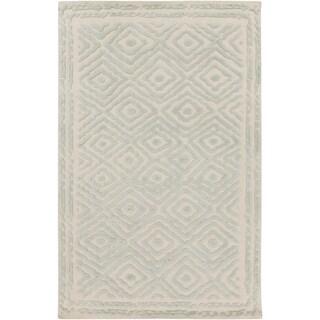 Hand-Knotted Katrine Indoor Wool Rug (2' x 3')