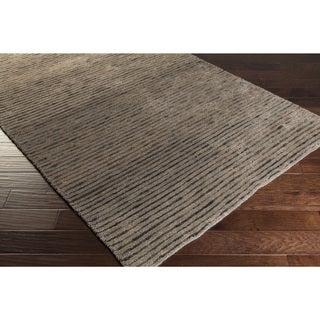 Hand-woven Kendrick Stripe Jute Rug (2'x3')