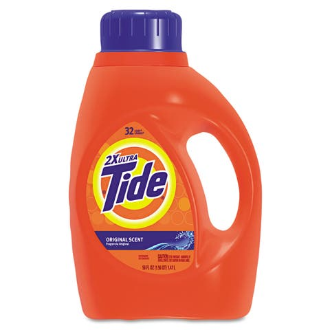 Tide Ultra Liquid Laundry Detergent, 50 ounces - Blue