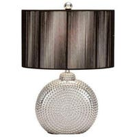 Ceramic Silver Table Lamp