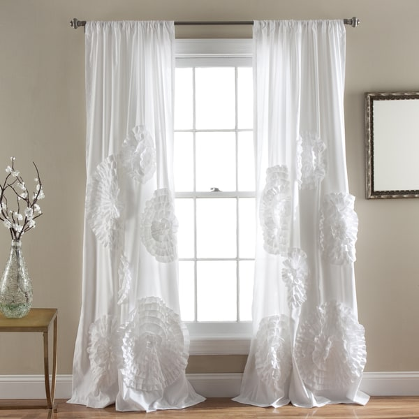 Lush Decor Serena 84-inch Curtain Panel - Free Shipping On Orders ...