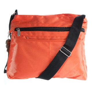 Suvelle 1905 Classic Travel Crossbody Bag (Option: Orange)