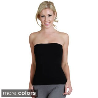 Nikibiki Seamless Dual Construction Rib Tube Top