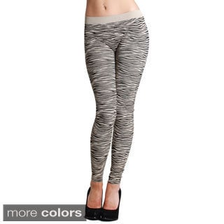 Nikibiki Zebra Print Ankle Length Leggings