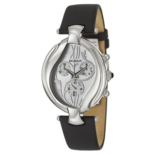 Balmain Women's 'Excessive' Stainless Steel Swiss Quartz Watch