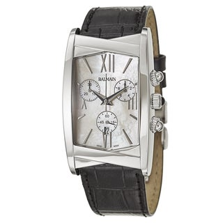 Balmain Women's 'Velvet' Stainless Steel Swiss Quartz Watch