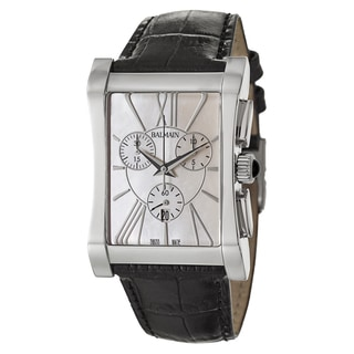 Balmain Women's 'Elysees' Mother of Pearl Stainless Steel Watch