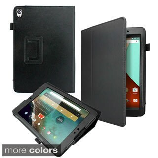 Gearonic Rotating PU Leather Case Folio Stand for Google Nexus 9 Tablet
