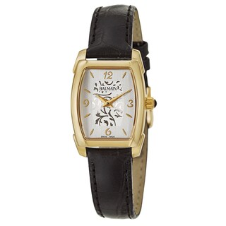 Balmain Women's Arcade Stainless Steel Yellow Gold PVD Coated Swiss Quartz Watch