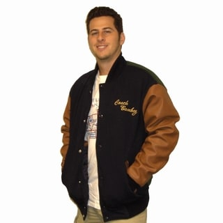 Ducks Movie Coach Bombay Hockey Letterman Jacket