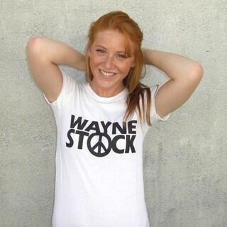 Women's Waynestock White T-shirt