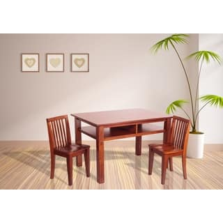 Mikaila Newton Kids  Table and Chair Set. Wood Kids  Table   Chair Sets For Less   Overstock com