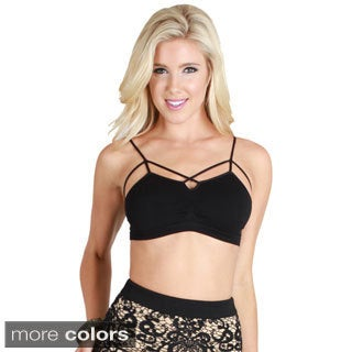 Nikibiki Seamless Criss Cross Strap Bra Top (5 options available)