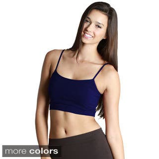 Nikibiki Seamless Spaghetti Straps Bra Top|https://ak1.ostkcdn.com/images/products/9782029/P16951655.jpg?impolicy=medium