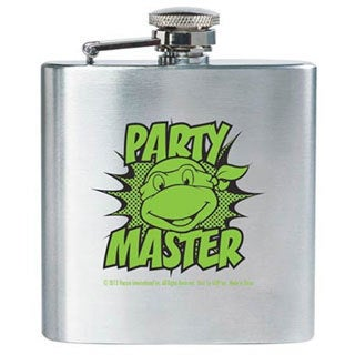 Teenage Mutant Ninja Turtles Party Master Flask