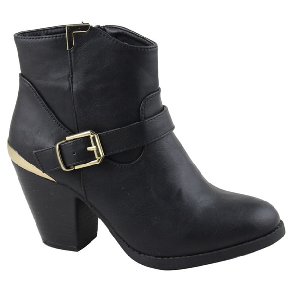 22f852f30cc Shop Celebrity NYC Women's Zina Ankle Bootie - Free Shipping Today ...