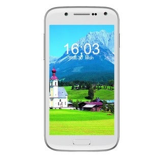 CellAllure Chic Mini 4.3-inch Screen/ Dual SIM/ 4G HPSD+ Factory Unlocked White Android Smartphone