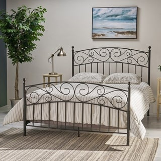 Gardenia Queen Bed Frame by Christopher Knight Home