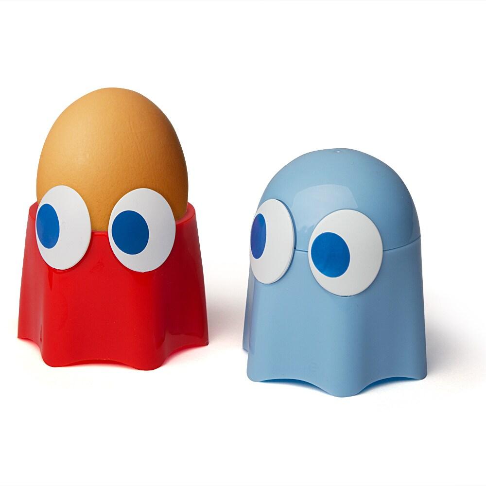 PAC-MAN Ghost Egg Cup, 2-pack (PAC-MAN Ghost Egg Cup), Bl...