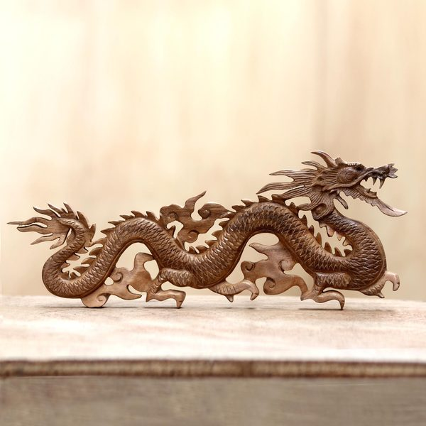 Baru Klinthing Dragon Traditional Artisan Handmade Hand Carved