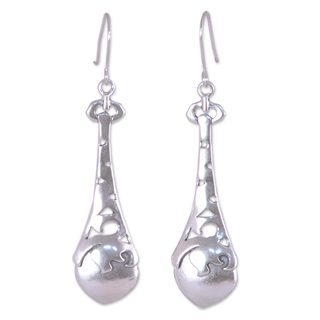 Handmade Sterling Silver 'Beacons' Earrings (Mexico)