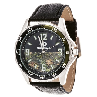 Mossy Oak Men's Analog All Terrain Field Officially Infinity b Frontier Watch