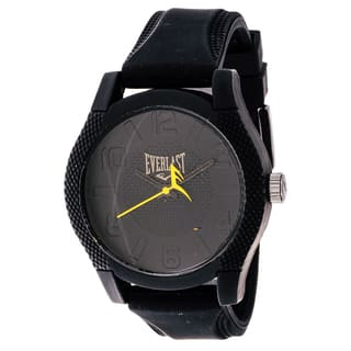 Everlast Sport Men's Dialog Round Watch with Black Rubber Strap|https://ak1.ostkcdn.com/images/products/9784565/P16953733.jpg?impolicy=medium