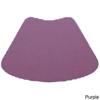 Wedge Fishnet Placemat (Set of 12) (Option: Purple)