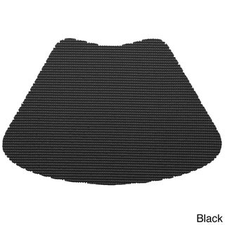 Wedge Fishnet Placemat (Set of 12) (Option: Black)