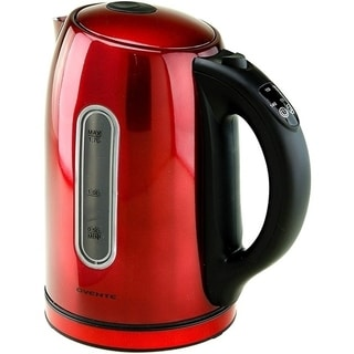 Ovente KS88R Red Stainless Steel 1.5L Digital Kettle