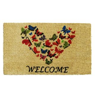 Butterfly Welcome Doormat (1'5 x 2'5)