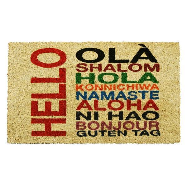 International Hello Doormat (1'5 x 2'5)