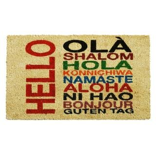 International Hello Doormat (1'5 x 2'5)