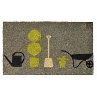 Garden Pleasure Doormat (1'5 x 2'5) - 1'5 x 2'5
