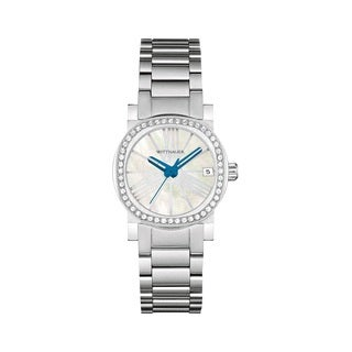 Whittnauer Women's WN4000 Stainless Steel Austrian Crystal Watch