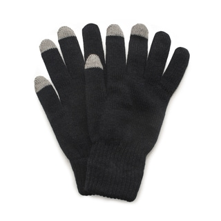 QuietWear 2-layer Knit Glove with Texting Fingers
