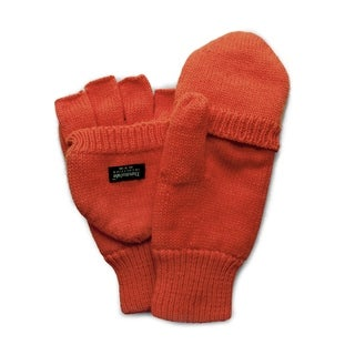 QuietWear Knit Flip Blaze Orange Gloves