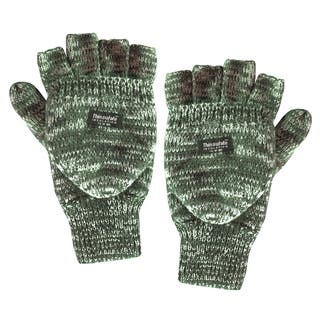 QuietWear Knit Flip Brown Marl Gloves|https://ak1.ostkcdn.com/images/products/9785547/P16954637.jpg?impolicy=medium