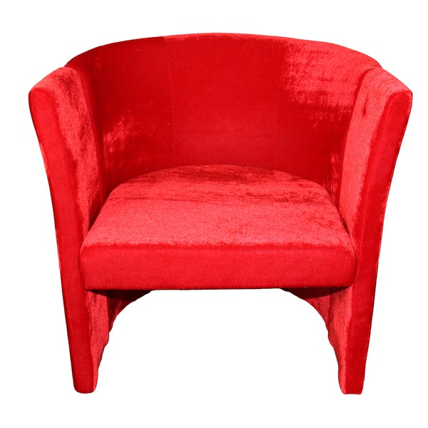 Shop Red Microfiber Folding Chair Free Shipping Today