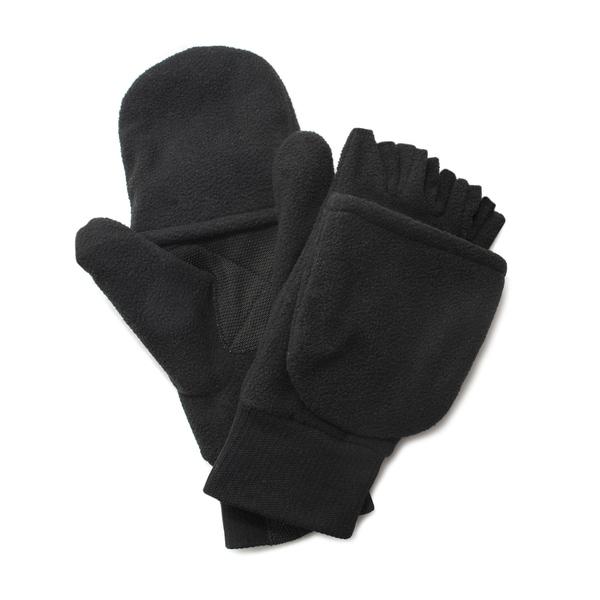 Quietwear Mens Fleece Flip Mitten with 40 Gr Thinsulate