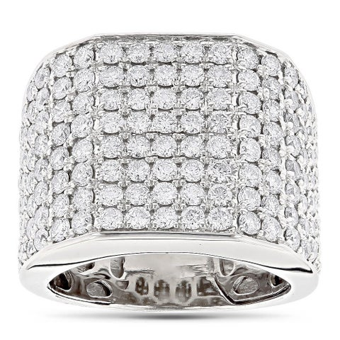 14k Gold 4 1/2ct TDW Diamond Men's Ring