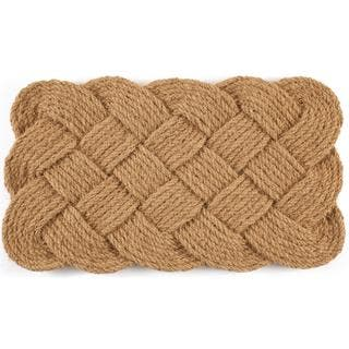 Hand-woven Knot-ical Coconut Fiber Doormat|https://ak1.ostkcdn.com/images/products/9785679/P16954742.jpg?impolicy=medium