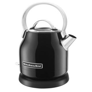 KitchenAid KEK1222OB Onyx Black 1.25-Liter Electric Kettle