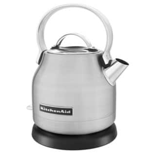 KitchenAid Brushed Stainless Steel 1.25-Liter Electric Kettle|https://ak1.ostkcdn.com/images/products/9785692/P16954732.jpg?impolicy=medium