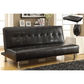 Loft Faux Leather Futon